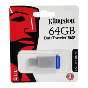Pendrive 64 Gb Kingston Original Usb Compatible Con Directv