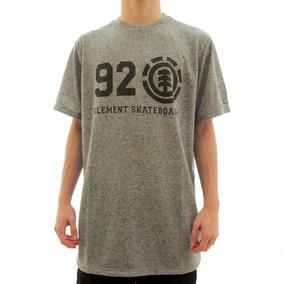 Camiseta 5 Elemento G - Calçados, Roupas e Bolsas Cinza escuro no ... 97d9b9c2d3