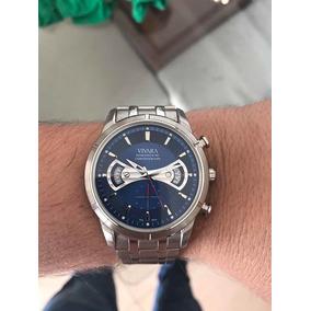 d7121e241fe Relogio Vivara Usado De Luxo Masculino Seiko - Relógios De Pulso ...
