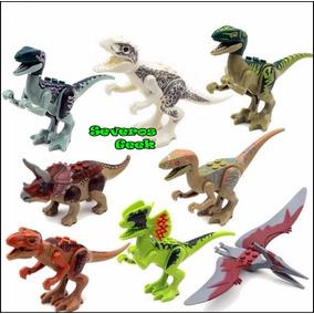 Colecao Lego Dinossauro 8 Pcs Jurassic Park Lindo T Rex