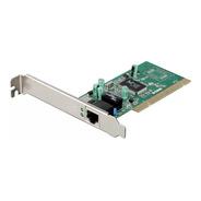 Placa De Rede Pci Gigabit 10/100/1000 D-link Low Profile