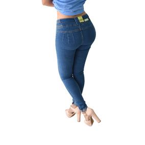 Pantalones Colombianos Jeans Dama Mezclilla Push Up Mayoreo