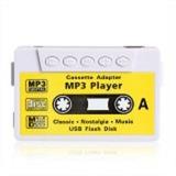 Reproductor Mp3 Cassette Usb, Audifonos No Micro Sd Blanco