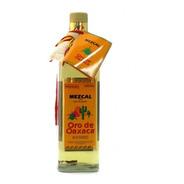 Mezcal Oro De Oaxaca Con Gusano 100% De Agave 750ml Mexico