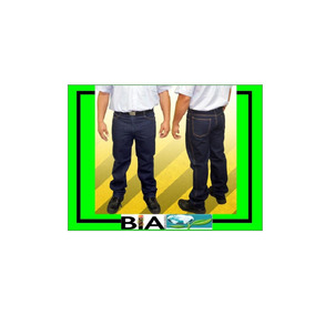 Jeans De Seguridad Triple Costura