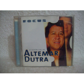 Cd Altemar Dutra- Focus- O Essencial De Altemar Dutra