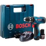 Atornillador Taladro Percutor Bosch Gsb 1200 2 Li 2 Baterias