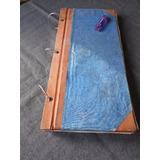 Gran Libro Índice Antigu Timbre Azul Ideal Escenografía Cine