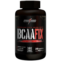 Bcaa Fix Darkness 240 Tablets Integralmédica + Brinde