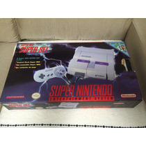 Super Nes Super Set Com Cartucho Super Mario World P/colecao