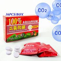 Kit Co2 Caixa Com 36 Pastilhas Tablets P/ Aquários Plantados