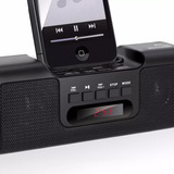 Caixa De Som Mp3 Dock Station 8w Rms Multilaser Iphone 4;4s