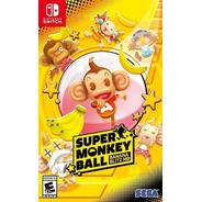 Super Monkey Ball: Banana Blitz Hd Nintendo Switch Fisico