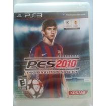 Pes 2010 Ps 3 (playstation 3) Futebol