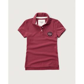 Camisa Feminina Polo Abercrombie & Fitch Original Linda