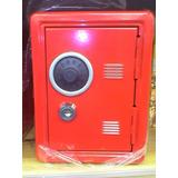 Caja Menor Alcancia Roja 16x12x10cm