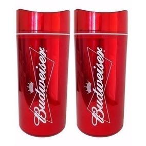 Kit 2 Porta Garrafa Cerveja Cervegela Budweiser 600 Ml