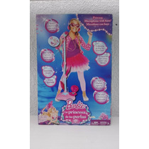 Micrófono C/ Base Barbie Y La Princesa De Las Perlas