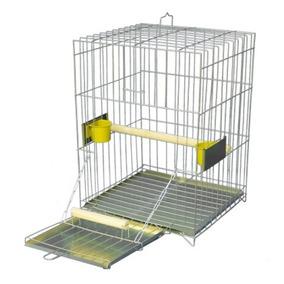Gaiola Quadrada Popular Para Papagaio
