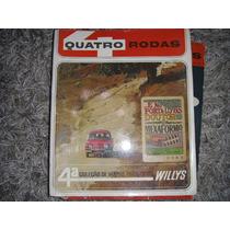 Revistra Quatro Rodas 4º Coleção De Mapas Turísticos Willys