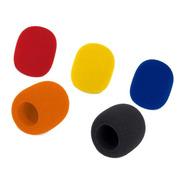 Paravientos Antipop Para Micrófonos X 5 Unidades Color
