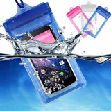 Capa Bolsa Case Aprova Dagua Celular Universal Sony Xperia