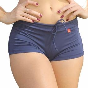 Shorts De Piscina Feminino - Moda Praia (trend Marinho)
