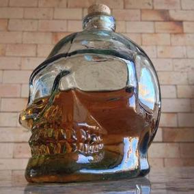 Garrafa Caveira Para Whisky- Vodka - 700ml - P/ Kit Home Bar