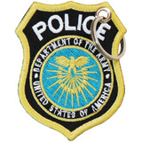 Chaveiro Bordado Distintivo Policia Civil Depto. Segurança