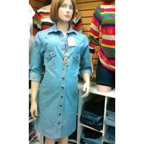 Vestido En Jeans Strech, Tallas Ss, S Y M. Mayor Y Detal..