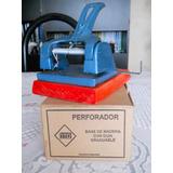 Perforadora De Fundición Con Base De Madera O T A