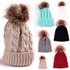 Touca Bebe Gorro Touquinha Pom Pom Croche Inverno. 4 cores 4fb395812f5
