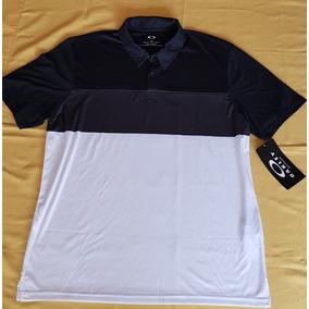 Camisa Polo Oakley Golf Porizon Polo Forgediron Talla Grande 01bf03d3d4324