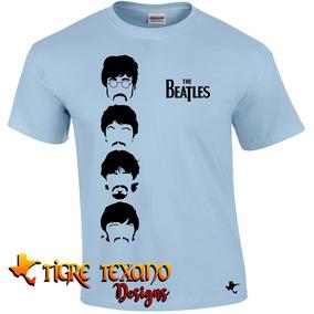 Playera Bandas The Beatles Mod. 07 By Tigre Texano Designs