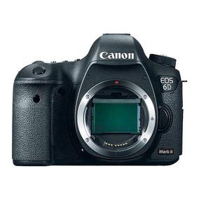 Câmera Canon Eos 6d Mark Ii Corpo Nota Fiscal Garantia 1 Ano