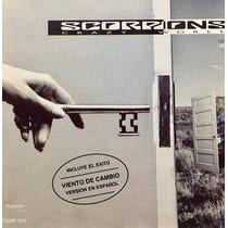 Cd Scorpions Crazy World Incluye El Exito Viento De Cambio