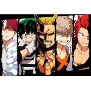 Placa Quadro Decorativo Anime Boku No Hero Academia (h326)