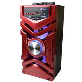 Caixa De Som Portátil Bluetooth Amplificada Microfone 866