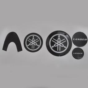 Protetor Adesivo 3d Motor Carbono Moto Yamaha Xtz 250 Lander