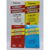Saber Chino, Japones, Francés,ruso,ingles En 10 Dias Sopena