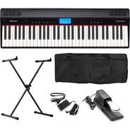 Teclado Roland Go Piano Go61p Go-61p Kit Completo Go61