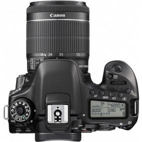 Camera Canon Eos 80d Kit 18-55 Stm Garantia No Brasil