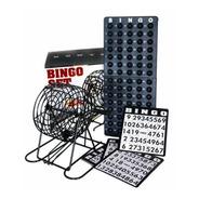Juego Bingo Familiar Salón Mesa Emtretenimiento Balotas