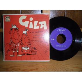 Gila Y Su Teléfono - Musart - México - 1957 - 45 Rpm