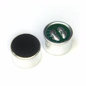 Microfone De Eletreto 10x7 Grande Sem Termins Kit C/60 Peças