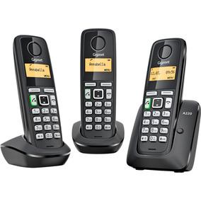 Telefono Inalambrico Siemens Gigaset Dect 6.0 A220 Triple