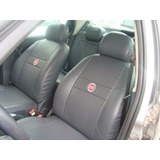 Capas Bancos Couro Fiat Uno Mille 2001 Smart 1.0 Ie 4p