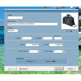 Sistema De Inventario Alvendi Multi Reportes