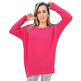 Sweater Mujer Amplio Irregular Talle Único Varios Colores!