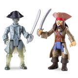 Piratas Del Caribe Muñecos Jack Sparrow Vs Ghost Crewman
